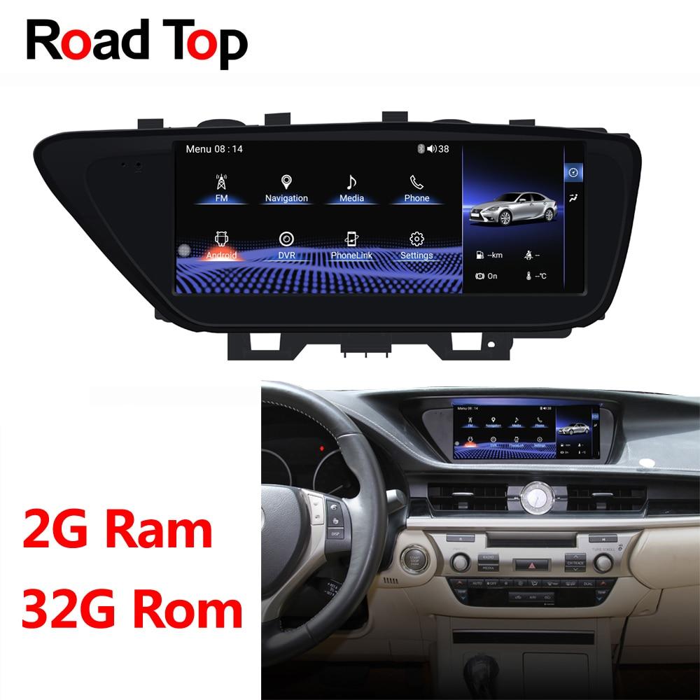 Winca S200 Android 80 Px5 Octa 8 Core Cpu 32gb Rom Car Dvd Radio Automobile Interior Lights Fader 1025 Display For Lexus Es 2013 2017 200 250 350 300h