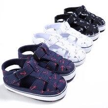 Toddler Baby Boy Girl Summer Infant Soft Crib Shoes 0-6 6-12