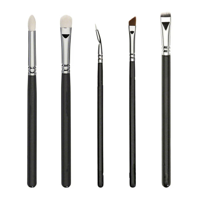 ZOEVA New  Luxe Complete Set 15 pieces Brushes For face & Eyes + Clutch NIB 3