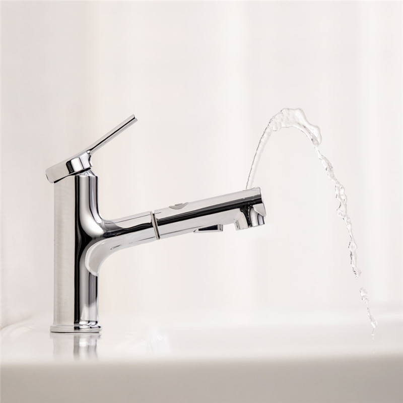 Bathroom Basin Sink Faucet Pull Out Rinser Spray Rinsing/Misting/Gargling Modes Water Mixer Tap Bathtub Faucet for Xiaomi DABAI