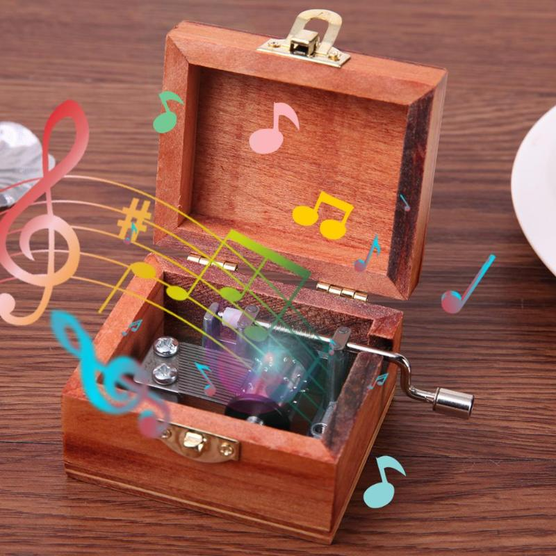 Permalink to Music Box City of Sky Vintage Carved Exquisite Retro Wooden Music Boxes Hand Crank Music Box Kid Birthday Gift Christmas Gift