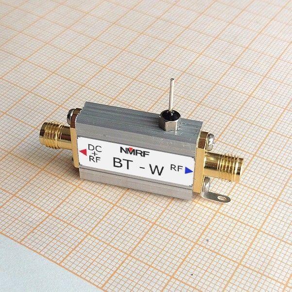 Bias Tee Wideband 10M-4GHz SMA RF Coaxial T-Type F/ HAM radio SDR LNA AmplifierBias Tee Wideband 10M-4GHz SMA RF Coaxial T-Type F/ HAM radio SDR LNA Amplifier