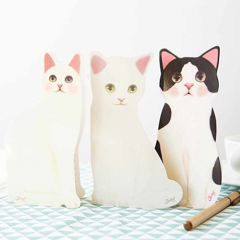 1PCS Mini Cat Folding Greeting Card Birthday Christmas Cards Envelope Writing Paper Stationery Gifts Decoration Suppliers