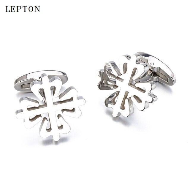 Купить запонки lepton из нержавеющей стали для мужчин яркие металлические