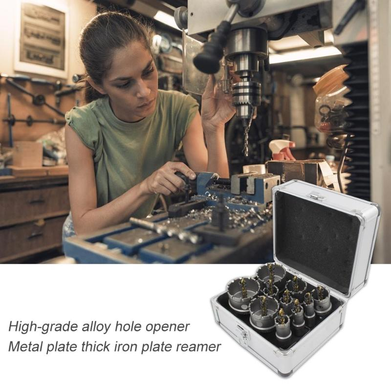 Alloy Step Cone Taper Drill Bit Set Hole Cutter Holesaw Kit Hole Opener Scope of application stainless steel cast iron steel Alloy Step Cone Taper Drill Bit Set Hole Cutter Holesaw Kit Hole Opener Scope of application stainless steel cast iron steel