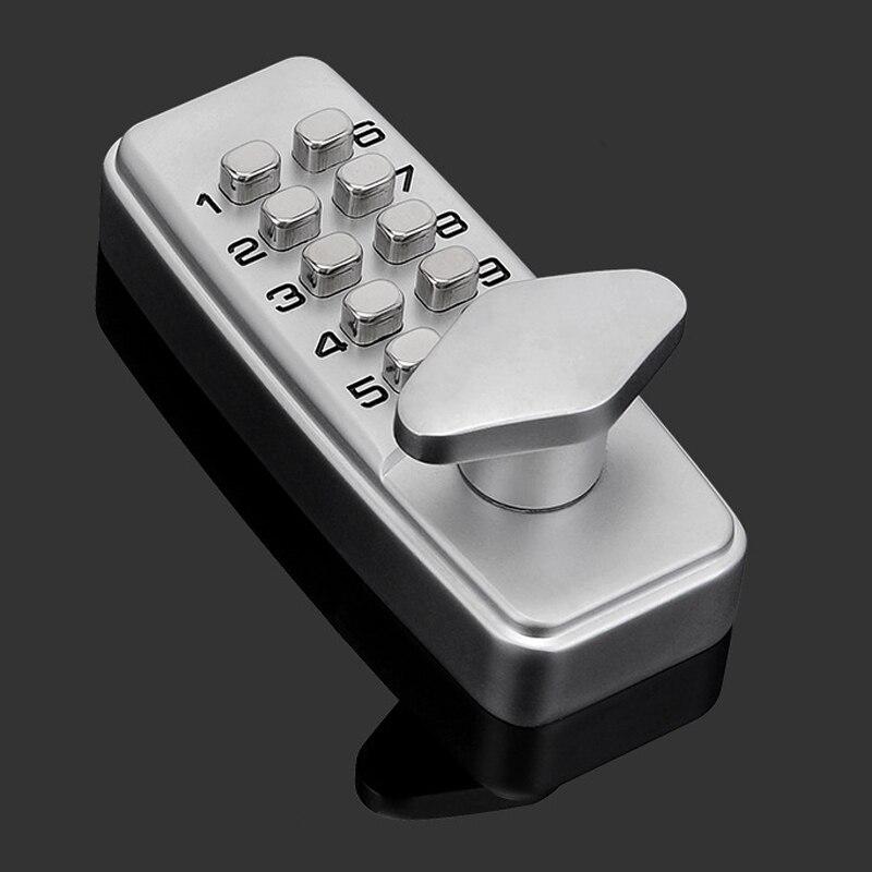 Serrure mécanique de Code numérique de combinaison extérieure d'entrée sans clé de serrure de porte de mot de passe pour le matériel de meubles à la maison