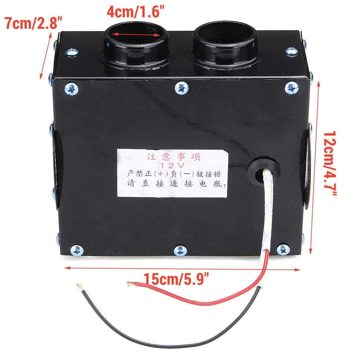 400w 12v Car Fan Heater Heating Winter Warm Windshield Glass Defroster Demister Parts & Accessories
