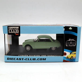 1:43 IXO Citroen 2CV Bijou 1960 United Kingdom Toys Car Diecast Club Models Christmas Gifts printio автомобиль citroen 2cv rally