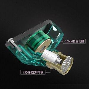 Image 3 - KZ ZSN Metal kulaklıklar hibrid teknolojisi kulak monitörü kulaklık spor gürültü iptal kulaklık 1BA + 1DD HIFI bas kulakiçi