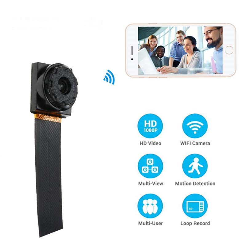 1080P Mini Wifi Wireless Camera HD 2MP wifi P2P 128G TF Card slot video Sound Recording Motion Detection Security Camera ultra mini screen free 3 0 mega pixels cmos motion detection video camera micro sd tf slot