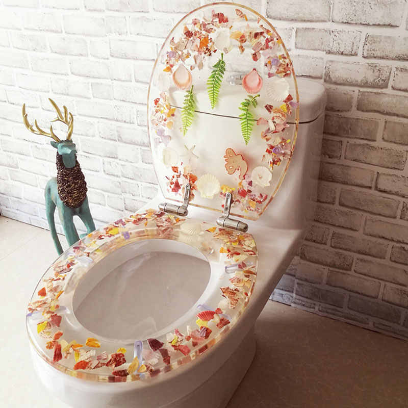 Wondrous Universal Slow Close Toilet Seats Cover Europe Style O U V Shape Resin Toilet Lid Stainless Steel Hinged Toilet Seats J18321 Machost Co Dining Chair Design Ideas Machostcouk