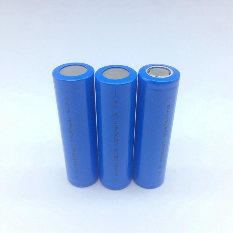 Suqy Original Bateria Rechargeable 3.7v 1800mAh 18650 Batterie Rechargeable accumulateur 18650 Rechargeable Batterie Avec Chargeur