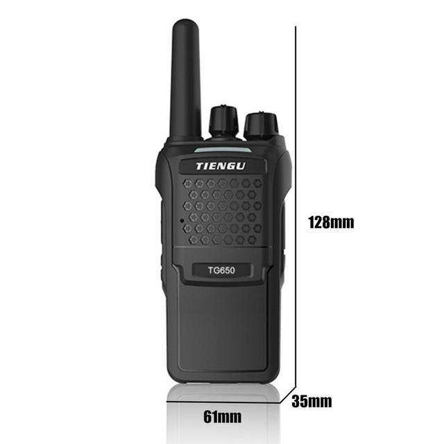 TG650 400 Trillion Professional Radio High Power Civil Professional Walkie-talkie Power Civil Field Super Long Standby Telephone 1