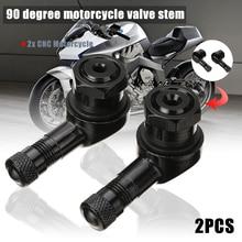 Колеса шины и запчасти 2 шт 10 мм 11,3 мм CNC мотоциклетный Клапан Стержень 90 градусов угол колеса шины бескамерный клапан Стебли алюминий