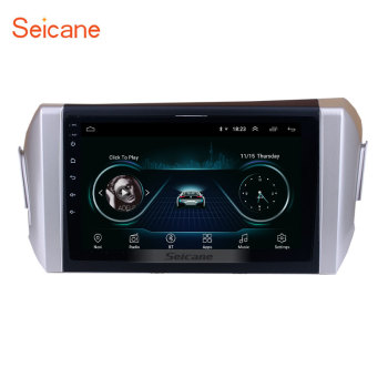 Seicane for 2015 Toyota Innova 9 inch HD Touchscreen API 29 Android 10.0 car multimedia player GPS Bluetooth Phone Wifi SWC image