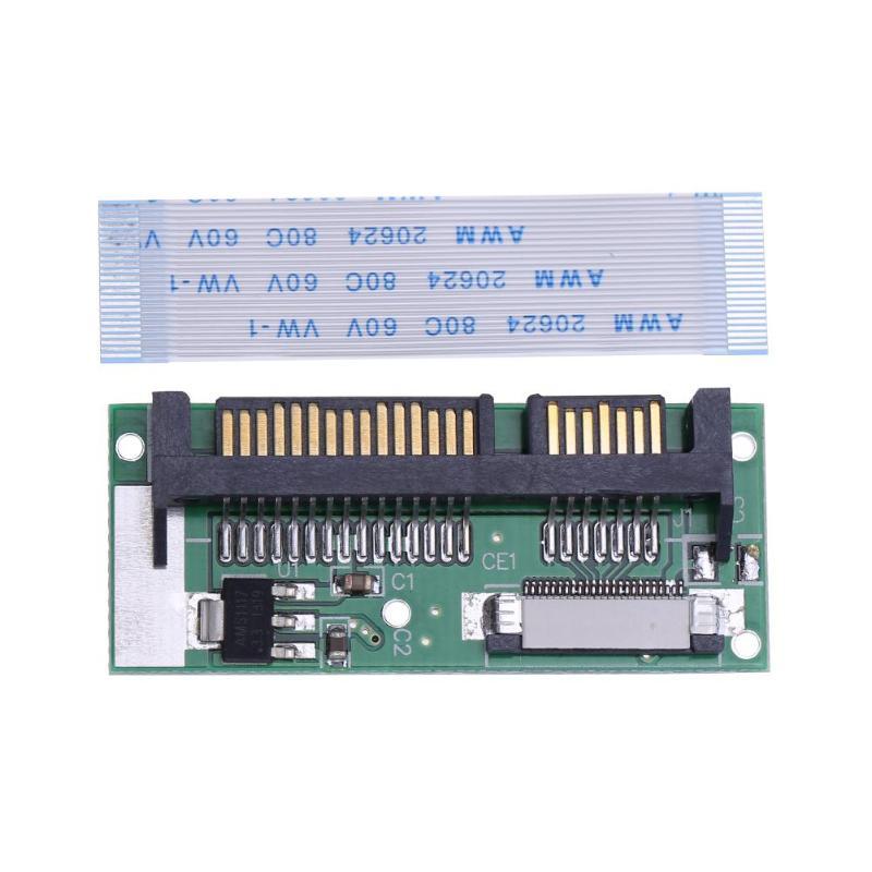 24 PIN SATA LIF Connector 1.8inch LIF To 2.5inch SATA 24Pin ZIF To 22Pin SATA Converter Adapter Card For Samsung MMDOE28GXMSP