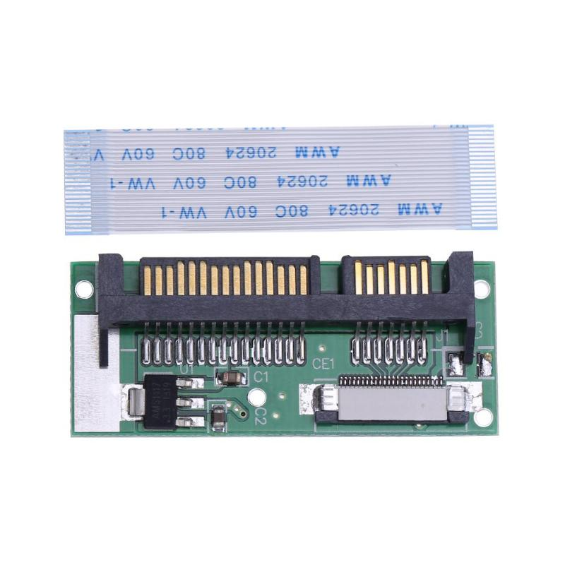 24 PIN SATA LIF connector 1.8inch LIF to 2.5inch SATA <font><b>24Pin</b></font> ZIF to 22Pin SATA Converter Adapter Card for Samsung MMDOE28GXMSP image