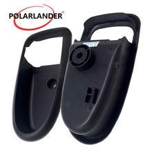Пластиковая черная левая и правая сторона внутренняя дверная ручка Крышка отделка ободок корпус для hyundai Elantra