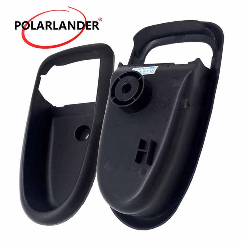 Пластиковая черная левая и правая внутренняя ручка двери Крышка отделка рамка Корпус для hyundai Elantra