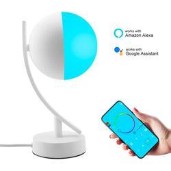 7W Led Smart Night Light RGB Wifi APP Remote Control Dimmable Table Light US EU Plug Google Home Amazon Alex Smart Desk Lamp