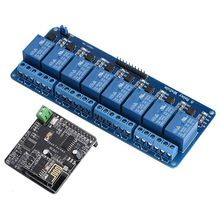 WIFI Network IO Controller 8 Channel Relay Module For Arduino Android iOS iMatic
