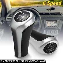 6 скоростей, ручка переключения передач для BMW E46 E90 E91 E92 X1 X3 X5