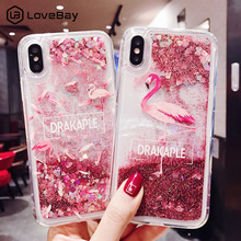 Lovebay Quicksand Case For iPhone X