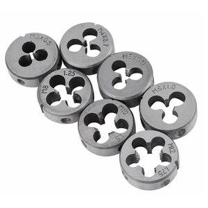 Image 4 - 32pcs in 1 Metric Hand Tap Set Adjustable Taps Dies Wrench Screw Thread Plugs Straight Taper Reamer Tools For Car Repairing Tool