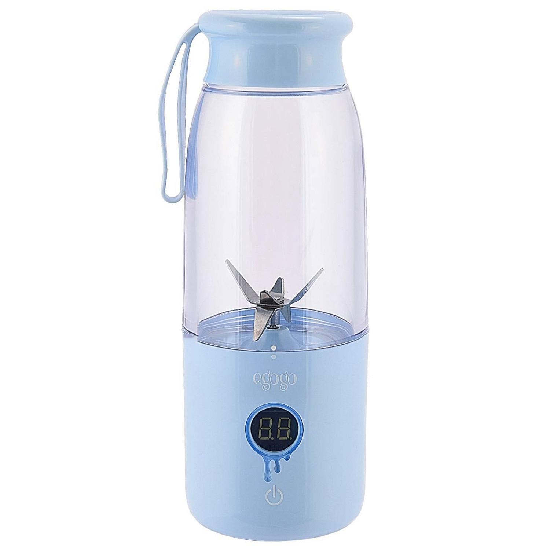 Hot sale Egogo Portable Blender Smoothie Blender,14Oz Detachable Juicer Cup For Travel Office School Home,Personal Fruits Juic