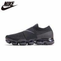 Nike Air Vapormax MOC Новое поступление оригинальный кроссовки с дышащей сеткой Удобные Спортивная обувь для мужчин # AH3397 004