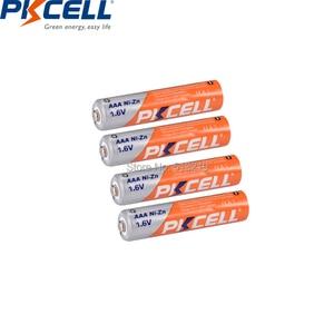 Image 3 - 4 Pin PKCELL AAA 900mWh Pin 1.6V Ni Zn AAA Pin Sạc Aaa 1 Cái AA/pin AAA Hộp Trường Hợp Cho Đèn Pin Đồ Chơi