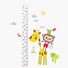 1 St Kids Hoogte Meet Ruler Muur Opknoping Houten Baby Kind Groei Grafiek Voor Kinderen Kamer Home Decoratie
