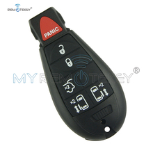 Remtekey New type keyless entry remote key fob Fobik for Chrysler Dodge Jeep challenger town country IYZ-C01C 434MHZ 6 button