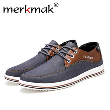 Men Sneakers Denim Breathable Shoe Casual Flats Comfortable Shoes Lace up Footwear Big Size 47