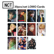 30Pcs/set K-POP NCT 127 Photocard Good quality K-pop NCT DREAM HD Lomo Cards BOSS TOUCH Fashion nct127 new arrivals(China)