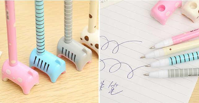 אלן ברוק 1 חתיכה קוריאה קריקטורה חמור בעמידה משרד ספר מכתבים פרסום כדורי עטים