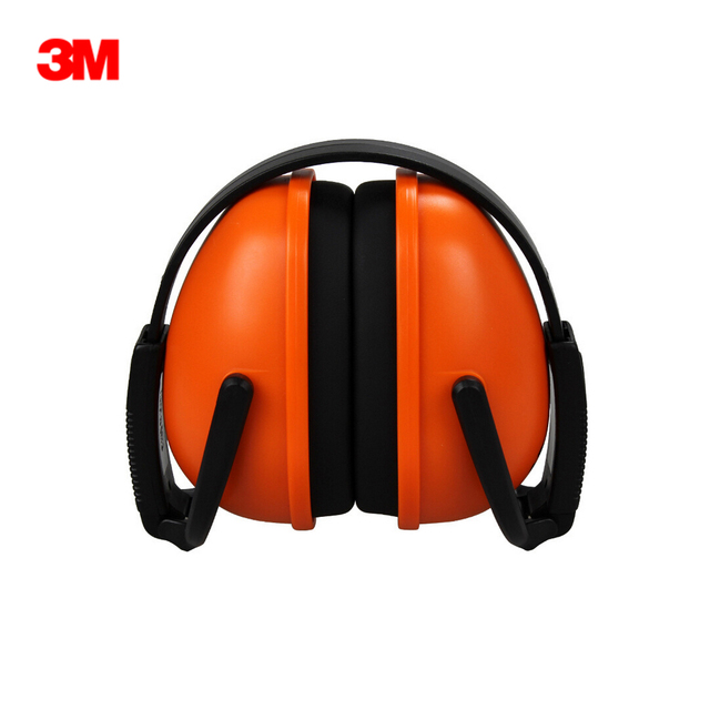 3M 1436 ses geçirmez kulaklık katlanabilir gürültü azaltma kulak Muffs için rahat uyku iş seyahat ve Loud olaylar kulak koruyucu