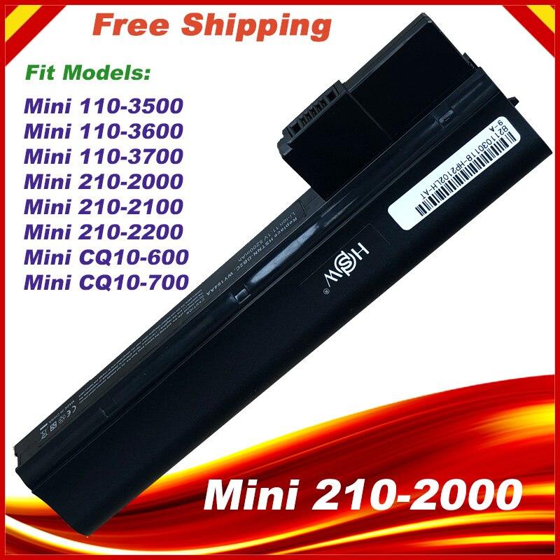 Laptop Battery for HP Mini 110-3500 110-3600 110-3700 CQ10-600LA HSTNN-LB1Y HSTNN-UB1Y Mini 210-2000Laptop Battery for HP Mini 110-3500 110-3600 110-3700 CQ10-600LA HSTNN-LB1Y HSTNN-UB1Y Mini 210-2000