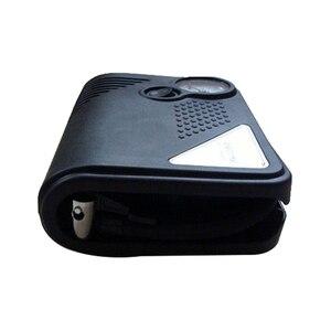 Image 3 - Portable 12V DC voiture pneu gonfleur Mini électrique compresseur dair pompe noir ABS pour voiture moto RV SUV ATV
