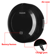 Mini Robot Intelligent Cleaning Automatic Wireless Induction Household Floor Dirt Dust Hair Rechargeable