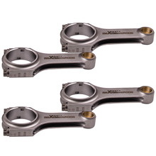Connecting Rods Conrod For Renault Clio Williams RS F7R Con Rod Bielle ARP TUV 144mm Balanced to +/  1 gram in set