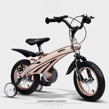 цена на New Brand Children's Bicycle 12/14/16 Inch Wheel Magnesium Alloy Frame Baby Safety Disc Brake 2/4/6 Years Old Child Buggy Bike