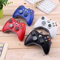 Improved Ergonomic Design USB Wired Joypad Gamepad Controller Remote Gamepads Red For Xbox 360 for xbox