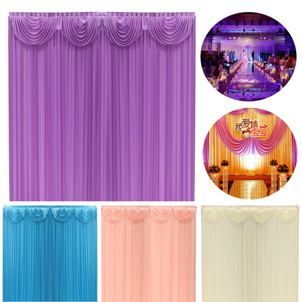 Large 3x3m Wedding Party Backdrop Curtain Drapes Background Studio Photography Party Events Supplies Wedding DecorationLarge 3x3m Wedding Party Backdrop Curtain Drapes Background Studio Photography Party Events Supplies Wedding Decoration