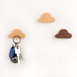 Магнитный настенный держатель ключа декоративные крючки для цепочки для ключей подвесные дверные магниты на холодильник