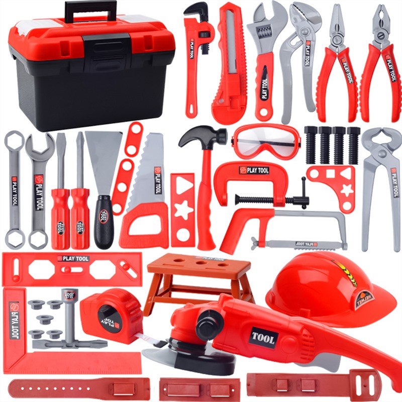 Children's Toolbox Set Baby Boy Simulation Repair Tool Drill Screwdriver Repair House Toys Brinquedos Menino Electric Tools