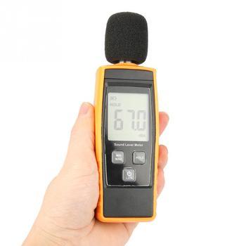1 sztuk GM1359 Mini miernik poziomu dźwięku cyfrowy LCD Tester hałasu DB miernik hałasu w środowisku Tester praktyczne przyrząd do pomiaru tanie i dobre opinie VBESTLIFE noise 30 ~ 130dB Sound Level Meter DB Meter Noise Tester Digital Noise Tester GM1359 Meter