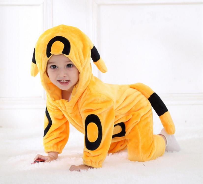 Baby Clothes Infant Romper Boys Girls Jumpsuit Kids Clothing Hooded Toddler carnival Pajamas Anime Cosplay Halloween Costume