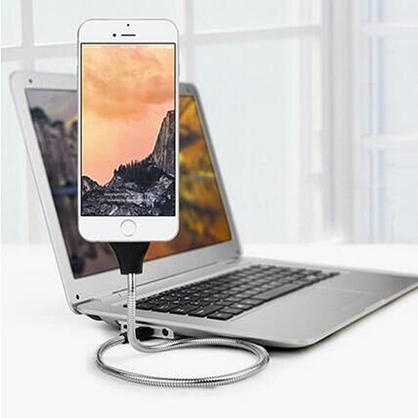 Lazy Bracket Charging Cable Anti-Fracture Car Dock Flexible Stand Up Phone Data Holder