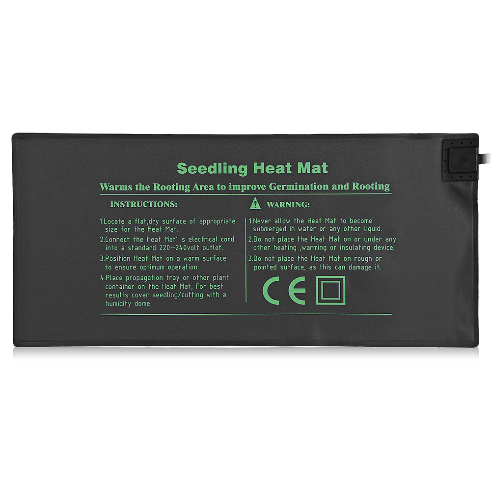 52 x 24cm Durable Seedling Heat Mat Warm Hydroponic Heating Pad|Heating Quilts & Mats| |  - title=